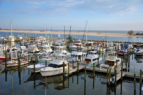 Working waterfronts include waterfront lands, waterfront infrastructure and waterways that are used for water-dependent activities, such as ports and marinas, and hundreds of other places across the country where people use and access the water.
