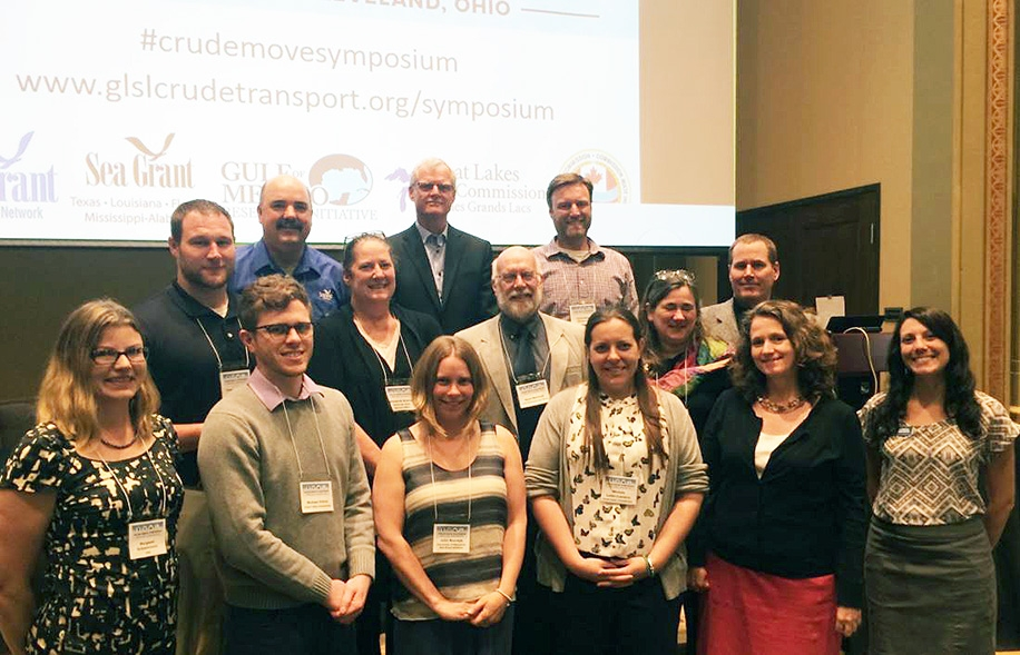 Here are the Crude Move planning committee members, including me, at the symposium.