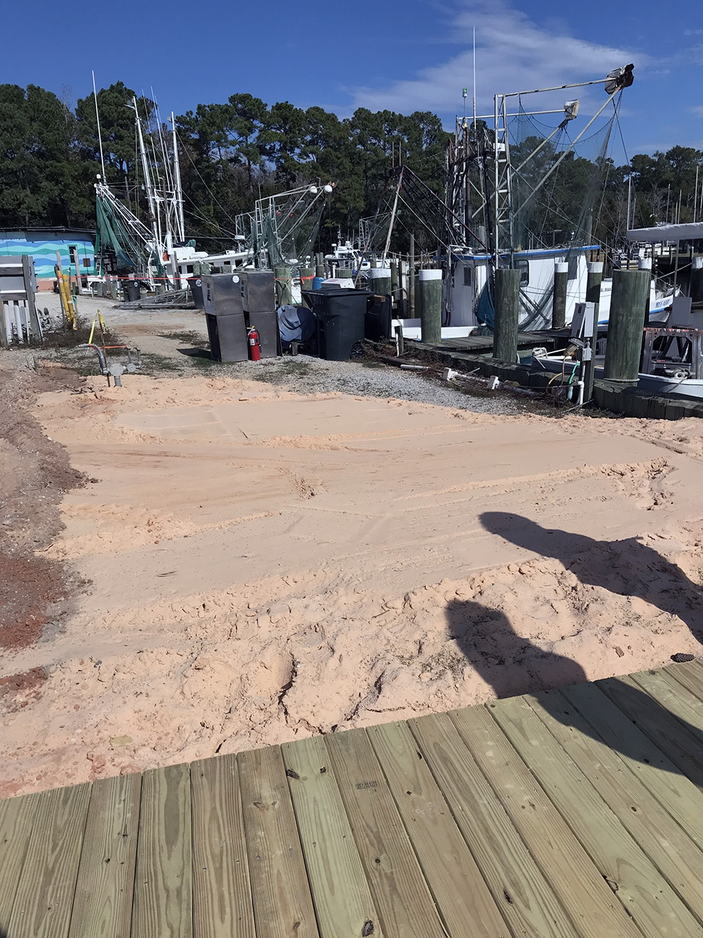 The Fairhope, Alabama, marina, known as Fairhope Docks is undergoing efforts to make the marina more resilient.