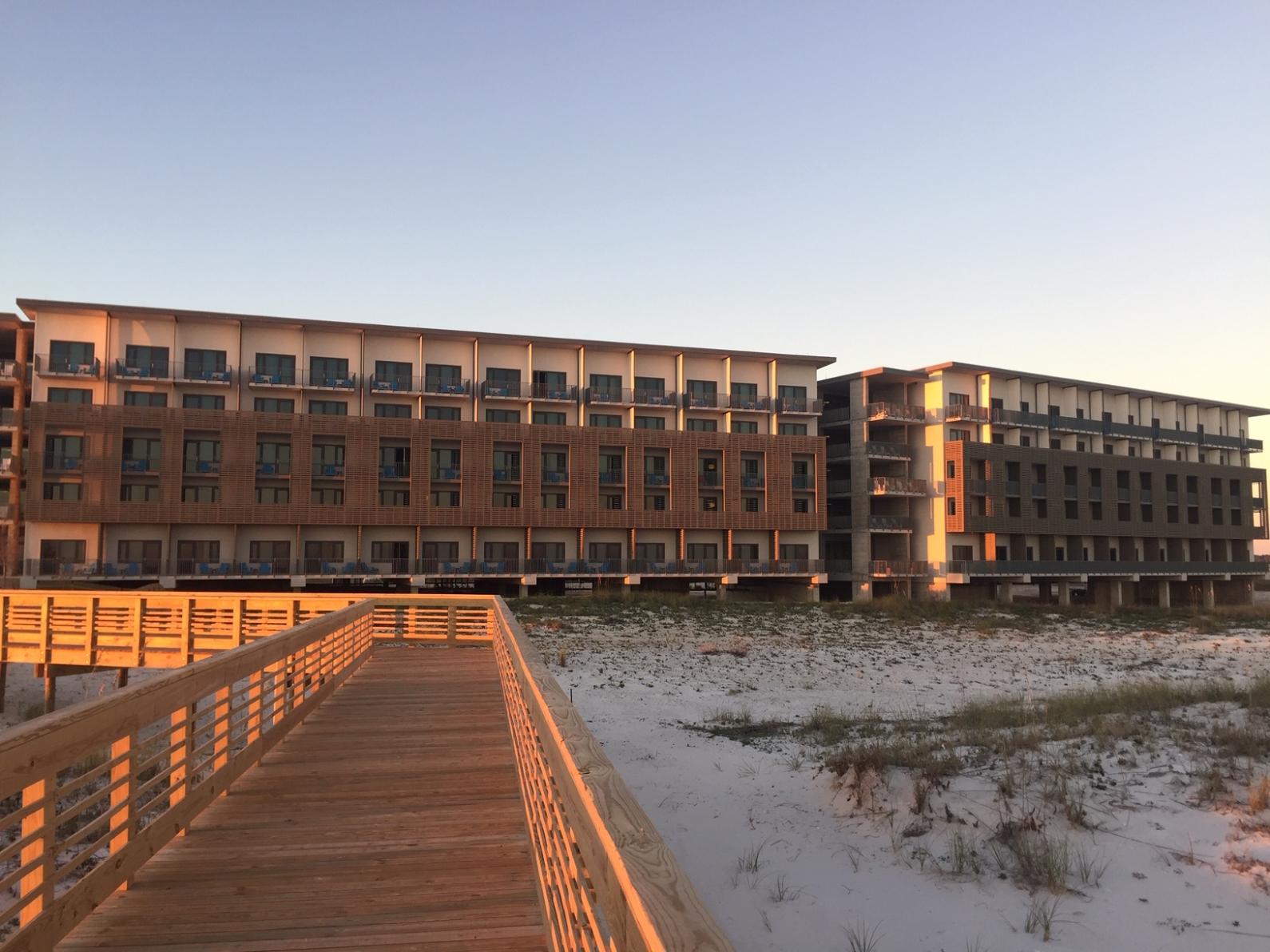 The Lodge is a Hilton Hotel.